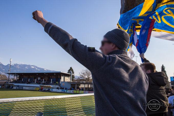 10 Jahre Blue Freaks - FC Lustenau