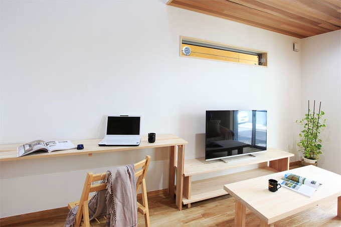 無垢の桧と杉を贅沢に使用した大工手造りのオーダーメイド家具