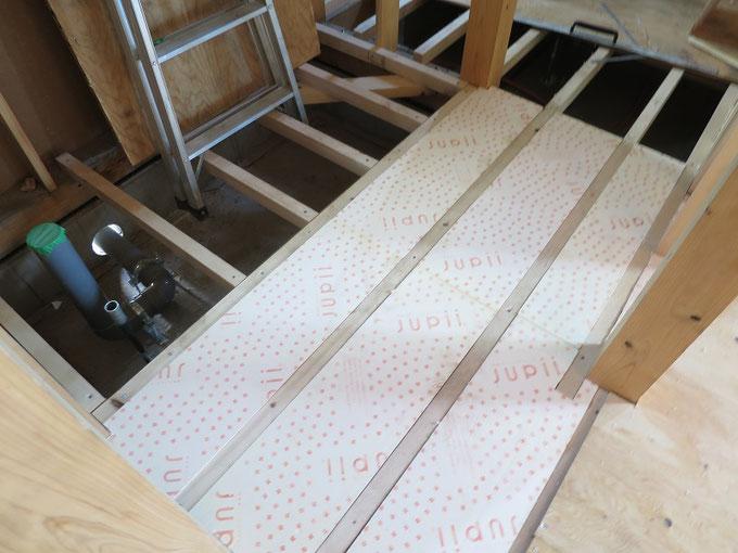 床下断熱材のネオマフォーム60mm