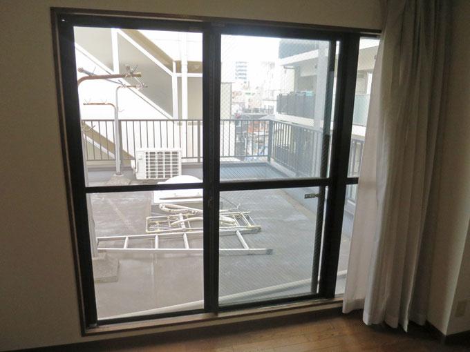 リフォーム前の掃き出し窓