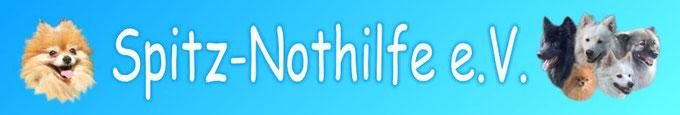 Spitz-Nothilfe Banner