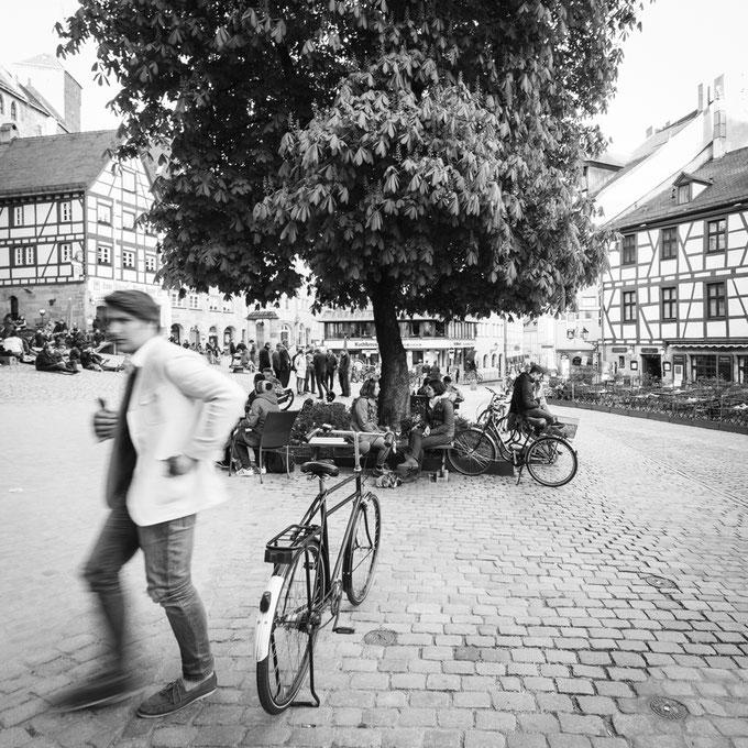 Nürnberg - Tiergärtnertorplatz (Copyright Martin Schmidt, Fotograf für Schwarz-Weiß Fine-Art Architektur- und Landschaftsfotografie aus Nürnberg)