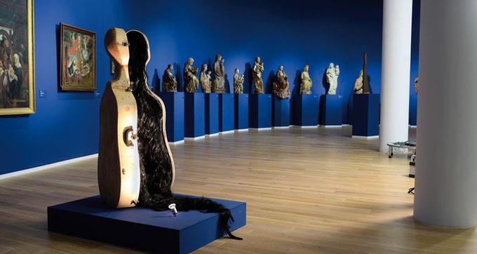 """""""Vera icon"""", Thema Moderne Kunst trifft Alte Meister, Mittelrhein-Museum Koblenz"""