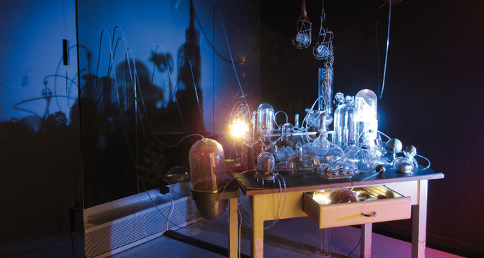 """Opus alchemicum"", LWL Archäologisches Landesmuseum Herne"