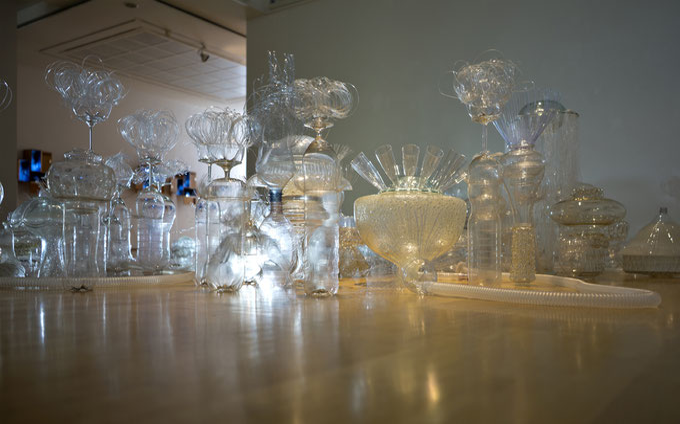 """Pelagische Zone"", Thema Plastik im Ozean, Kunstmuseum Ahlen"