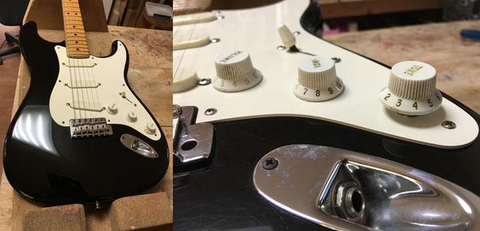 Eric Clapton Stratocaster Customized