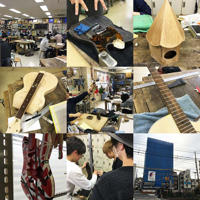 ESP Musical Academy ギタークラフト科
