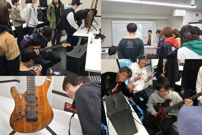 ESPミュージカルアカデミー ギタークラフト科特別授業