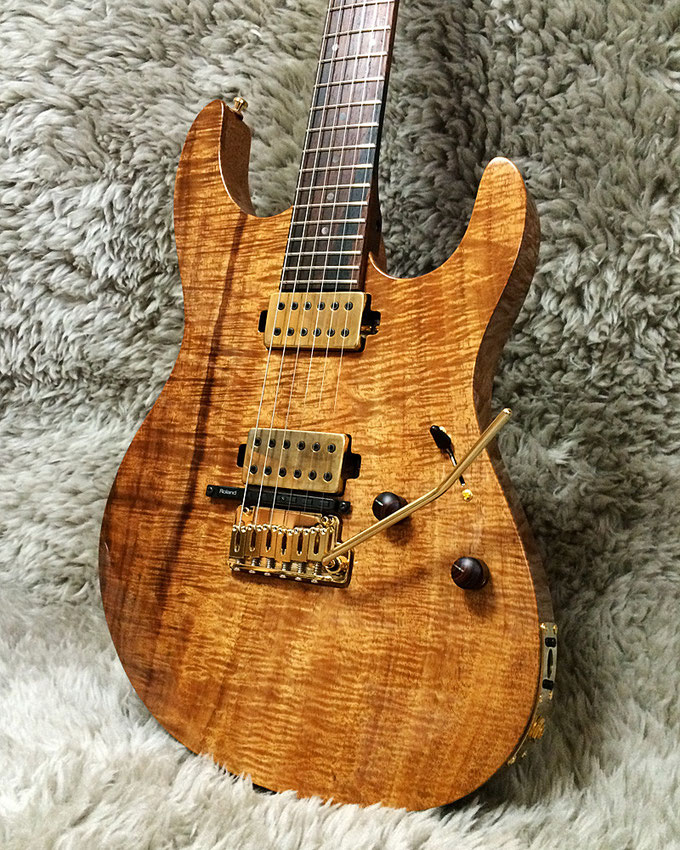 One Piece Hawaiian Koa Droptop Custom