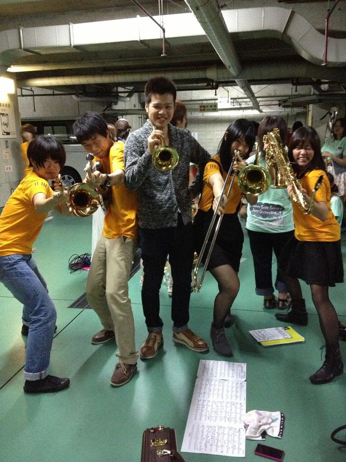品川先輩もオータムバンドに参加しましたヾ(@⌒ー⌒@)ノ