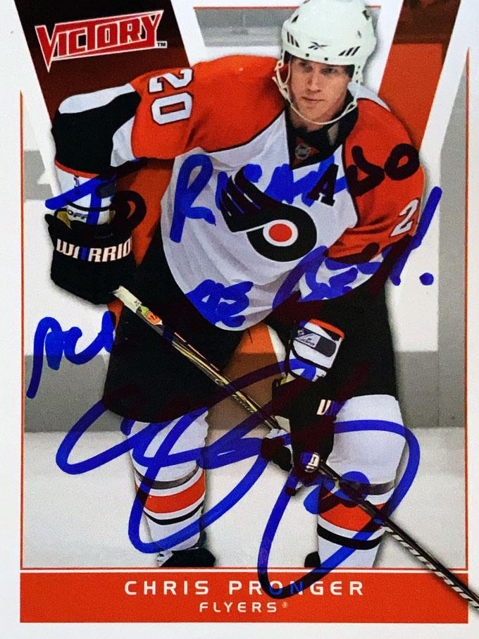Autograph Chris Pronger Autogramm