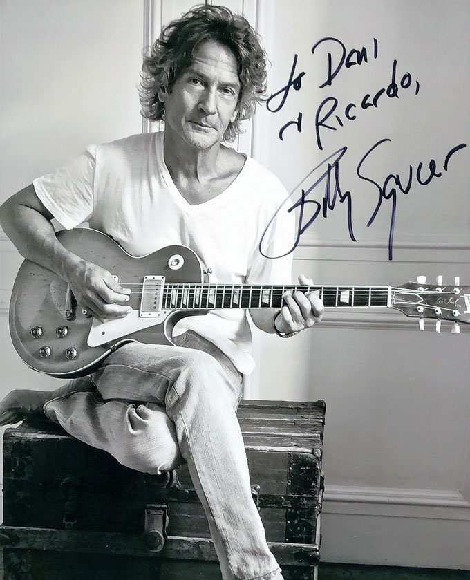 Autograph Billy Squier Autogramm