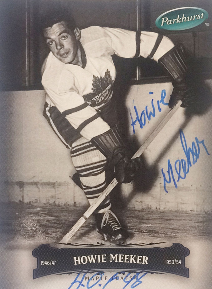 Autograph Howie Meeker Autogramm