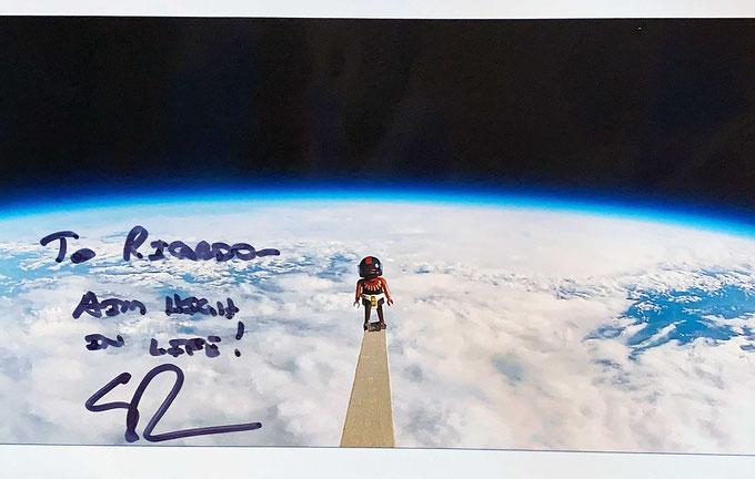 Autograph Scott Parazynski Autogramm