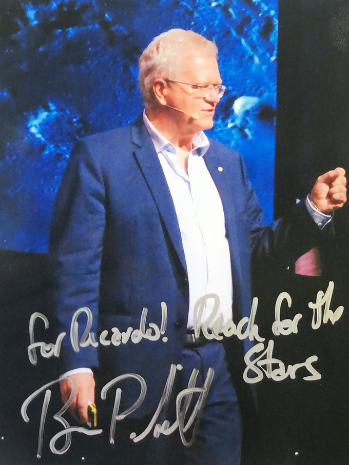 Autograph Brian Schmidt Autogramm