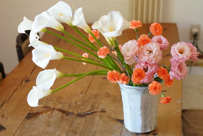 仲本律子 母の日 花
