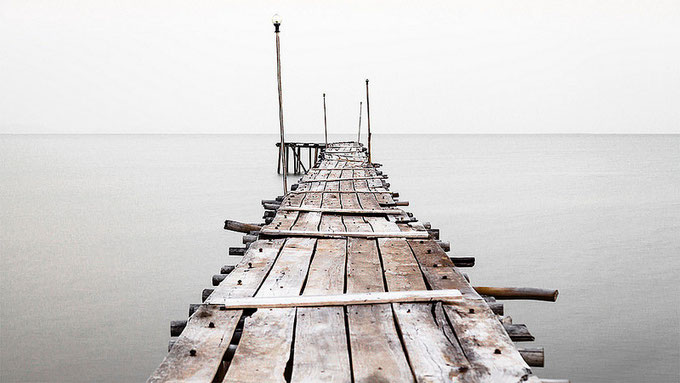 Embarcadero de pesca en Kep