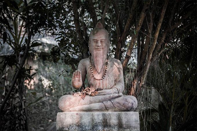 Las pagodas budistas son auténticos remansos de paz