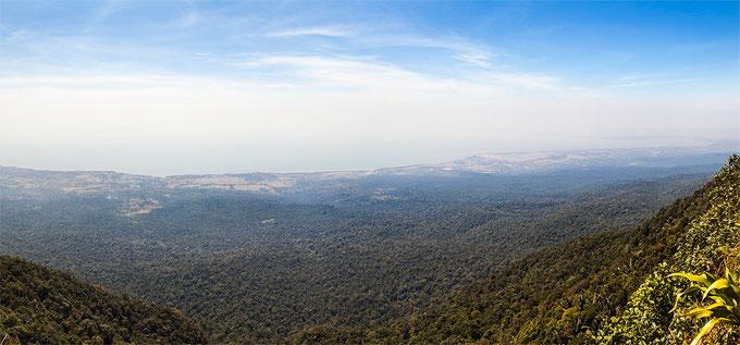 Las vistas desde la cumbre son absolutamente magnificas.
