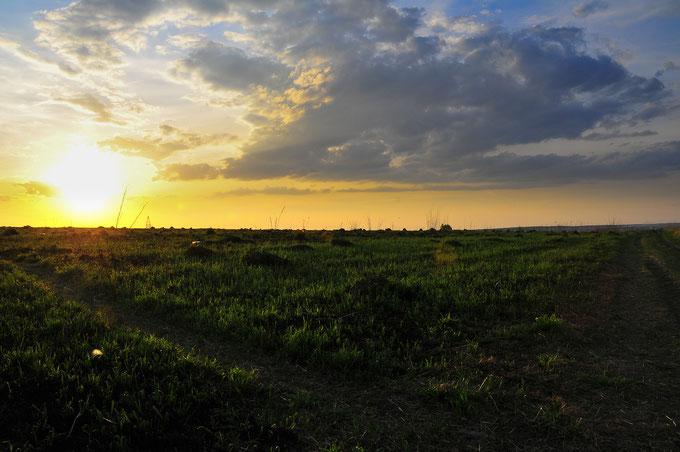 Landschaftsfotografie in den Morgenstunden oder bei Sonnenuntergang