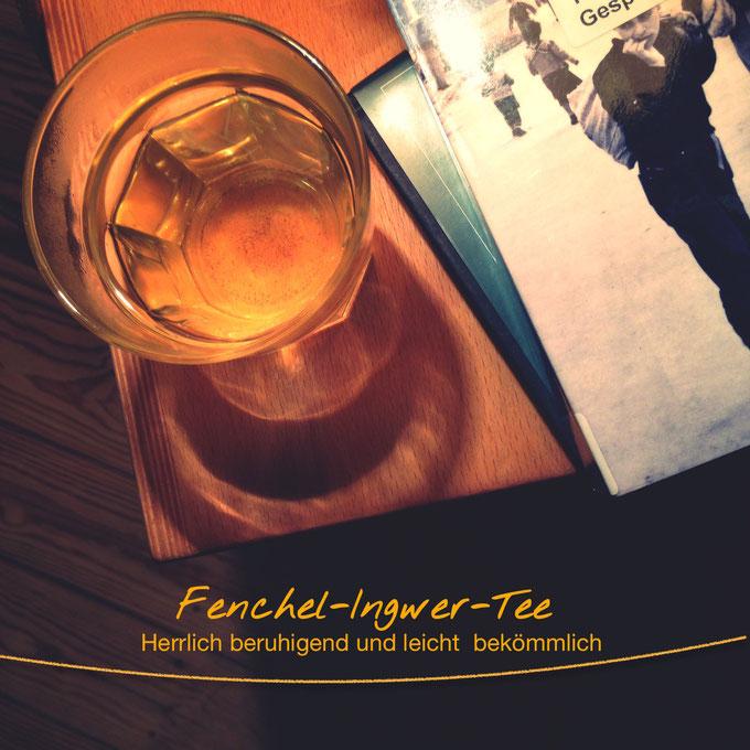 Rezept: Fenchel-Ingwer-Kardamom-Tee