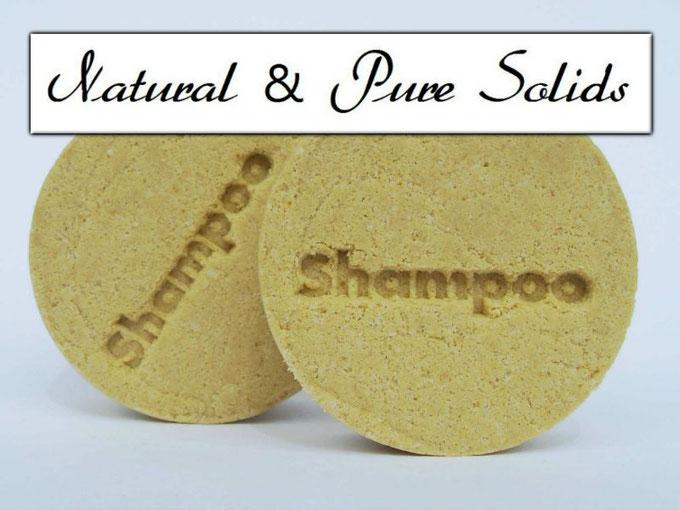 Festes Shampoo mit Calendula - Calendula Shampoo-Stein - Naturseifen und Wellness-Shop