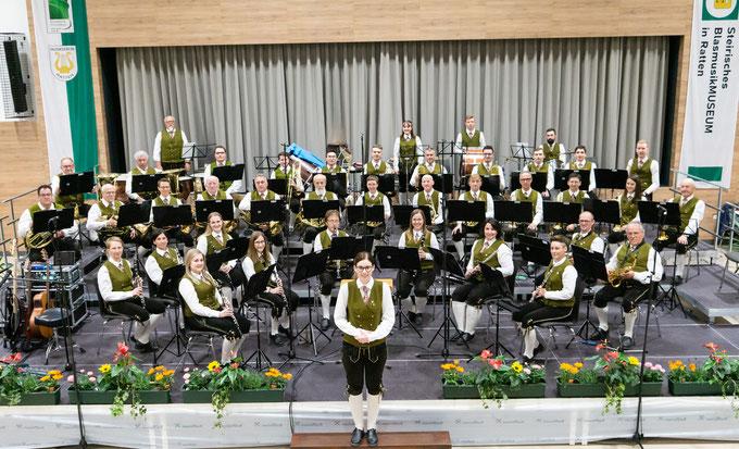 Musikverein Ratten - alle Musiker