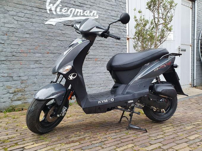 Populaire scooter op Terschelling - de Kymco Agility