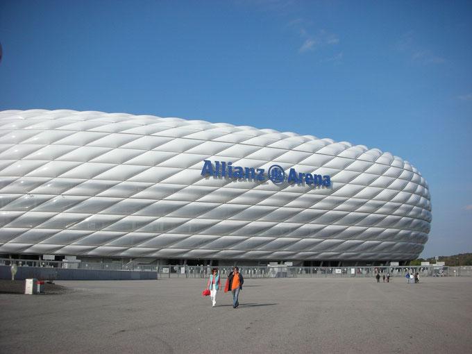 バイエルンミュンヘンとミュンヘン1860のホームスタジアム、アリアンツアレナ