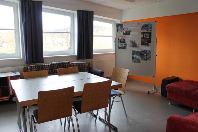 Jugendraum für Besprechungen und Ausbildung