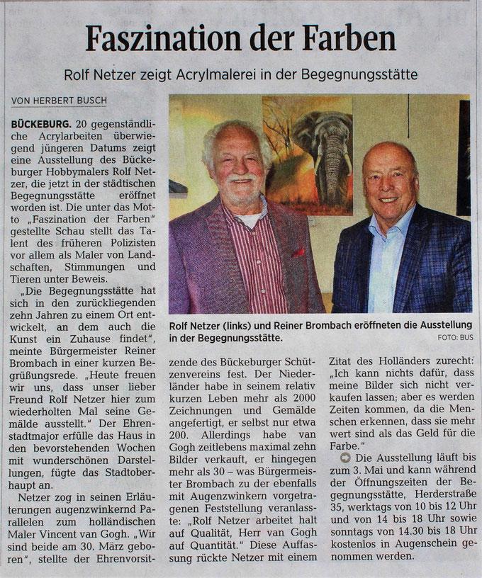 Begegnungsstätte Bückeburg 2019