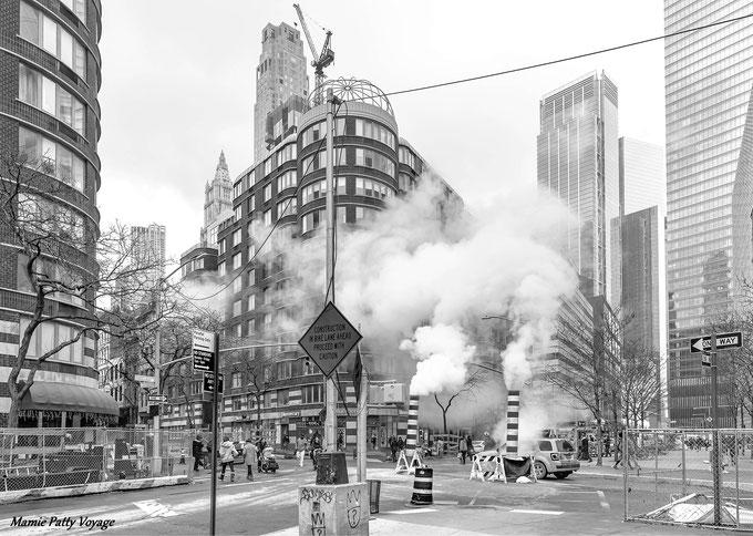 New York en noir et blanc