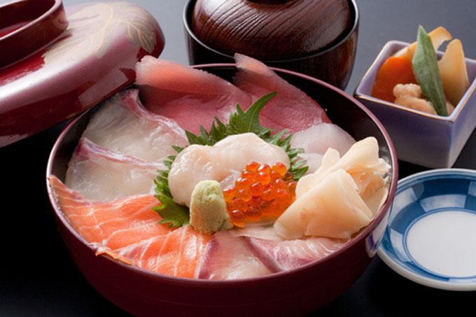 海鮮丼 1,000円