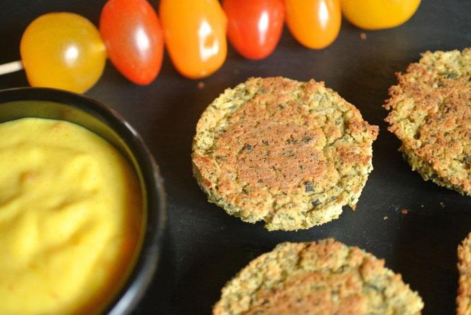 Falafel aus dem Ofen - ohne Ausbacken (auch für Thermomix)
