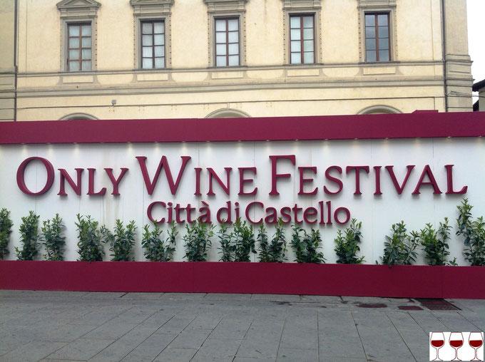 Only Wine Festival, Città di Castello. Itinerario di vino. Foto Blog Etesiaca