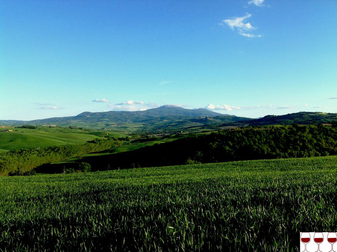 San Quirico d'Orcia. Itinerario di vino. Foto Blog Etesiaca