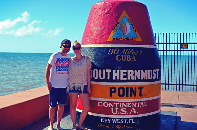 Key West Florida USA Southernmost Point