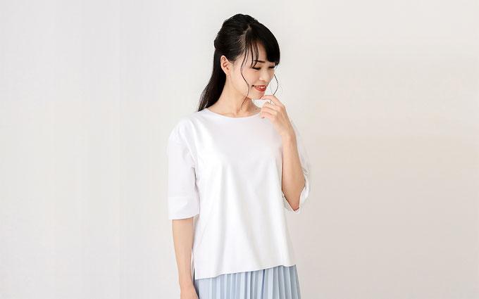 ドゥクラッセTシャツ A:Dailyに使いたい『抜け感シルエット』 Tシャツコーデ
