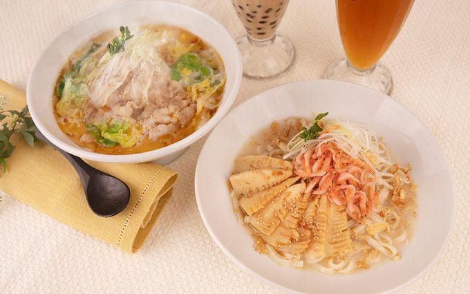 春期限定の『酸菜白肉麺(サンサイパイローメン)』『桜海老と筍のまぜ麺』も要チェック! ジョワーヌ東京