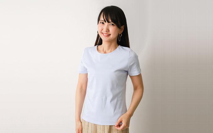 ドゥクラッセTシャツ F:『クルーネック半袖』の通勤スタイル Tシャツ