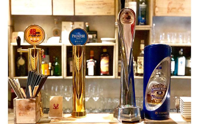 イタリアのビールが樽生で飲めます。 絶対食べるべき一品として話題になったGoccia(ゴッチャ)の「トリュフのチーズリゾット」