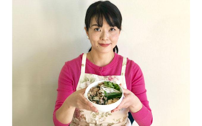 豚白モツと切干大根の煮物 完成 小林加代子