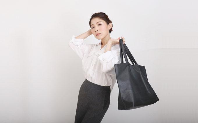 2019AW注目したいスニーカー&コーデ④ レザーLITEスニーカーIII