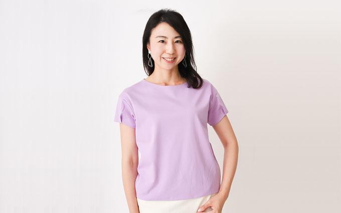 ドゥクラッセTシャツ C:『タックスリーブ』で近所の友人宅へ Tシャツコーデ
