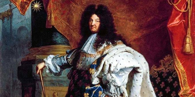 Luigi XIV, ricordato come il Re Sole, è esempio di monarca assoluto