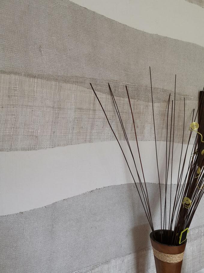 Application d'un revêtement naturel à St Georges de Montaigu