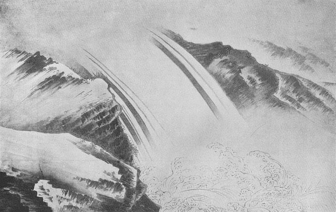 La chute d'eau. Ernest Francisco FENELLOSA (1853-1908) : L'art en Chine et au Japon