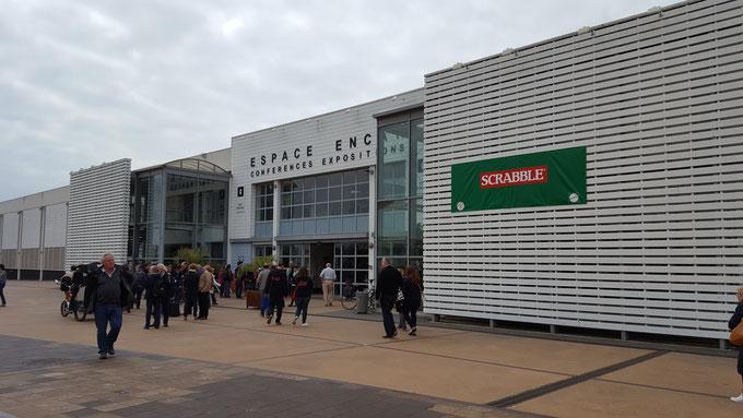 L'Espace Encan à La Rochelle qui accueillait les 41es championnats de France de scrabble duplicate