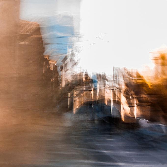 Stadt aus Papier, Canvas 60 x 60 cm
