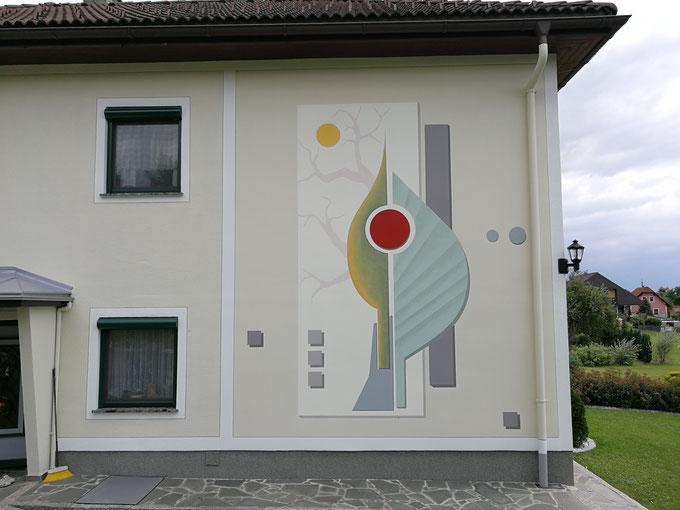 Grafische Gestaltung nach eigenen Etnwurf abgestimmt auf die Personen des Wohnhauses